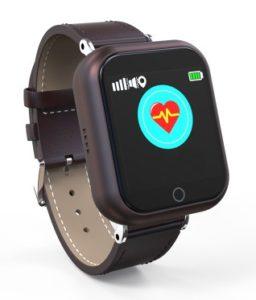 Nieuw gps horloge met hartslag monitor. Setracker app.