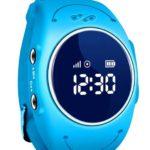 Gps tracker kopen horloge waterdicht telefoon tracker kinderen blauw